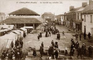 Challans le marché aux vollailles en Vendée - AGENCE ELIOT CHALLANS