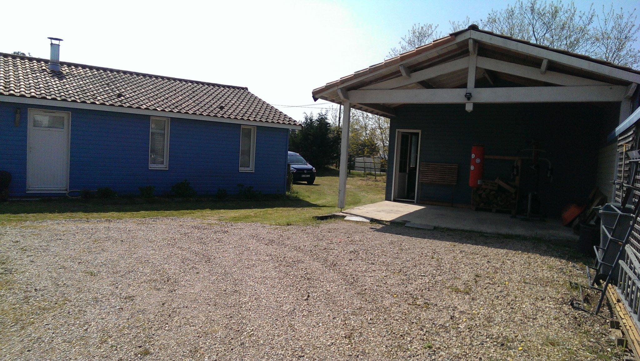 Belle maison en bois au calme dans la campagne à 5 min de la mer – Saint-Hilaire-de-Riez